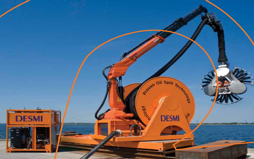 desmi-oil-spill-technology